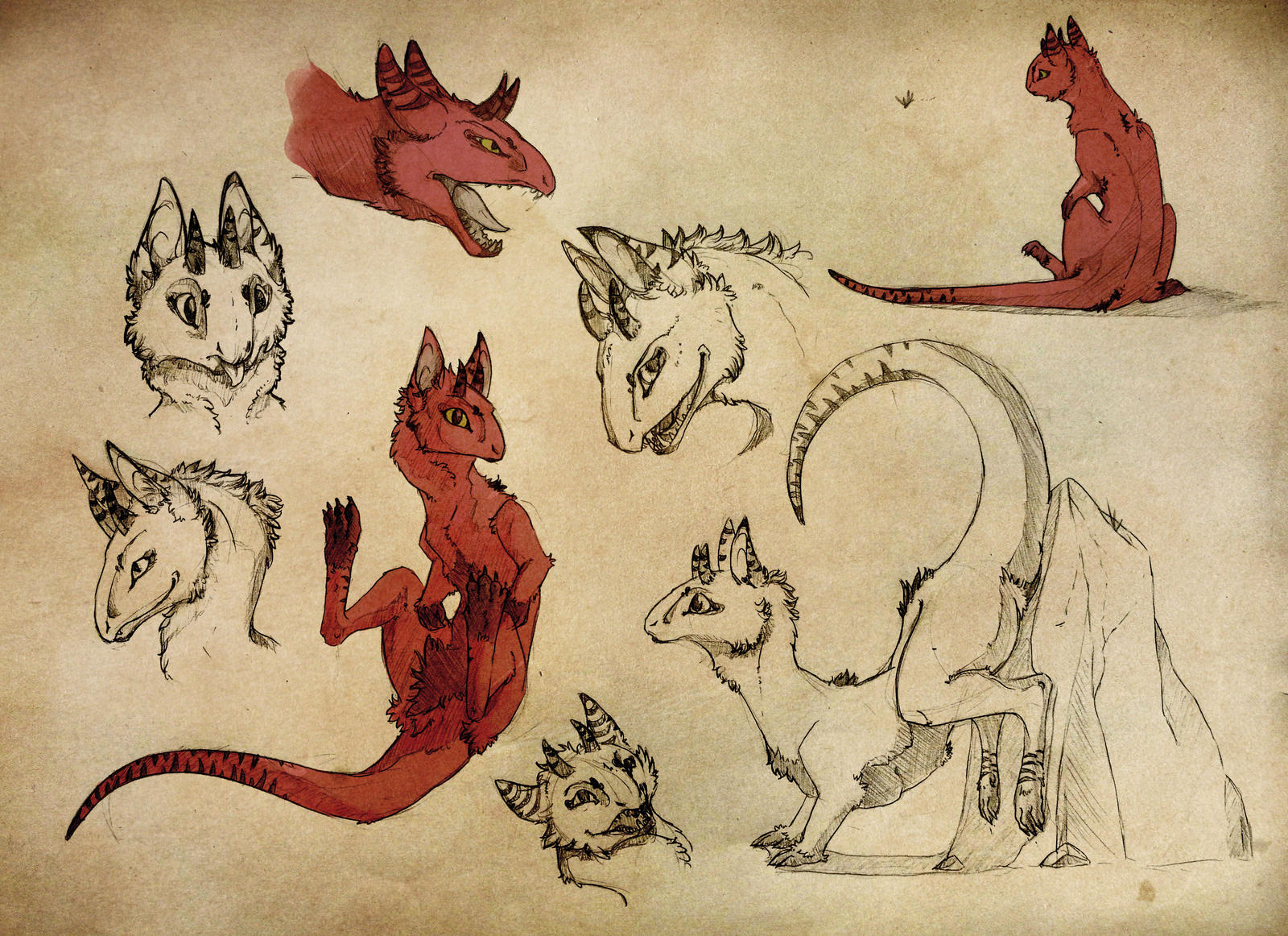 Maurie Doodles by Cerasyl