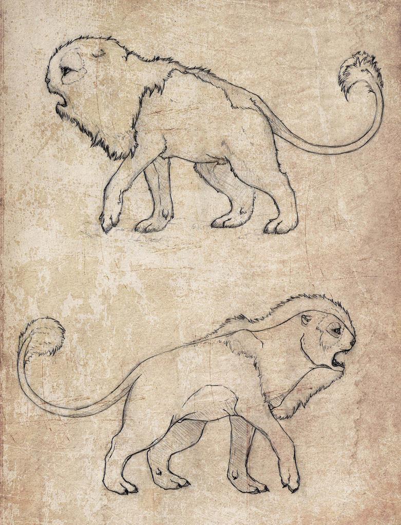 Beast Sketch by Cerasyl