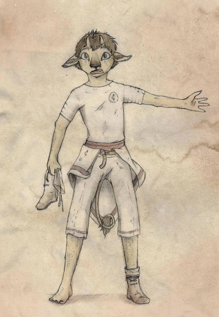 Iathi Sketch by Cerasyl