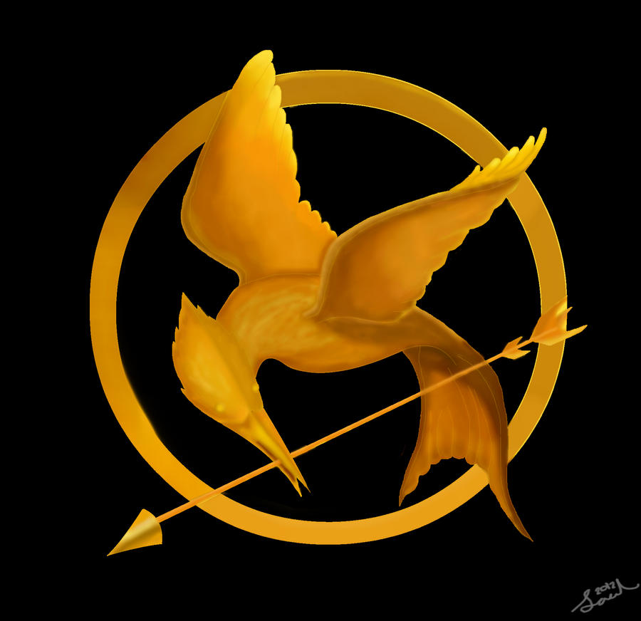 Image - Mockingjay sketch by TOB.jpg | The Hunger Games ... |Hunger Games Mockingjay Pin Outline