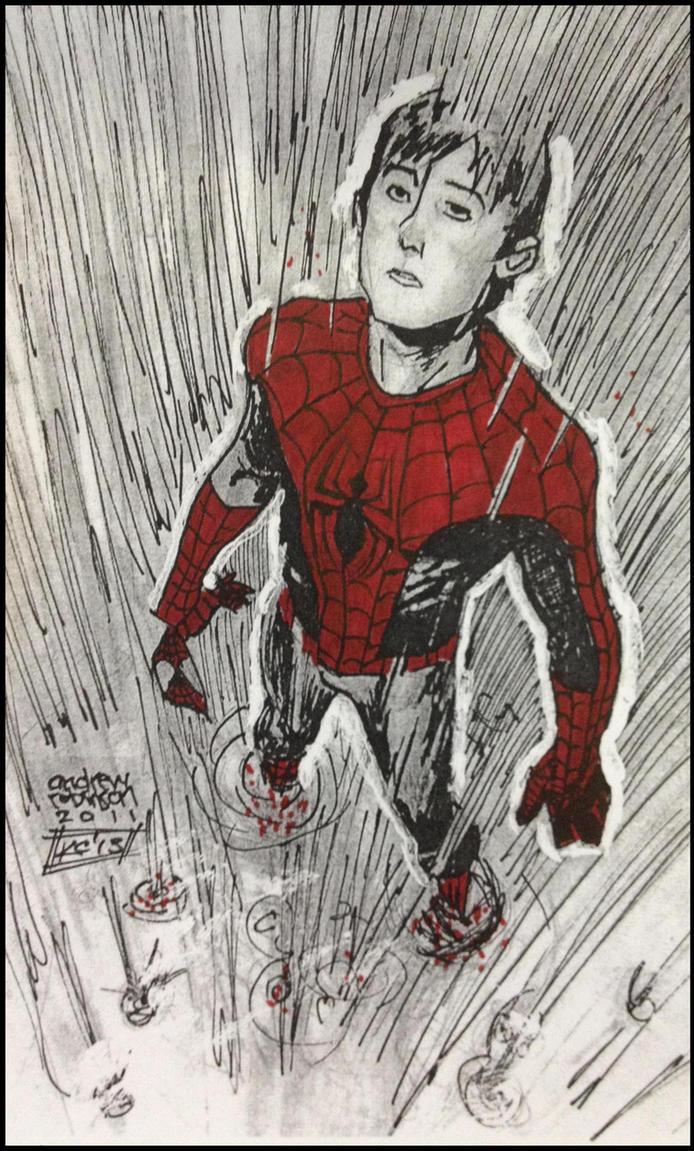 Spiderman (Andrew Robinson) by NemesisXIII