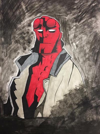Hellboy by NemesisXIII