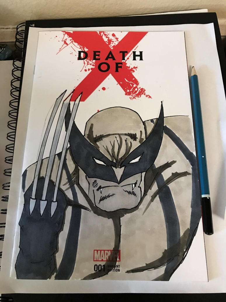 Wolverine Death of X by NemesisXIII