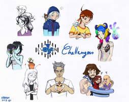Evasion - Challengers by KrayComics