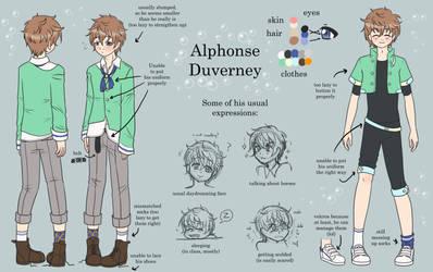 PA: Alphonse Duverney (old) by KrayComics