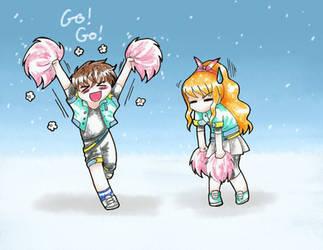 PA: Go! Go! Cheerleader! by KrayComics