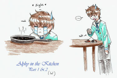 PA: Alphy trying to cook