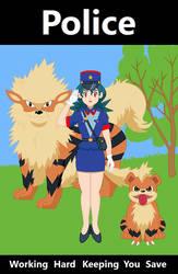 officer jenny Poster