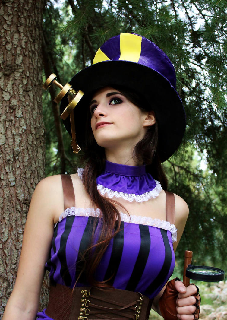 Caitlyn Cosplay From League of legends by YumeLujury on ...