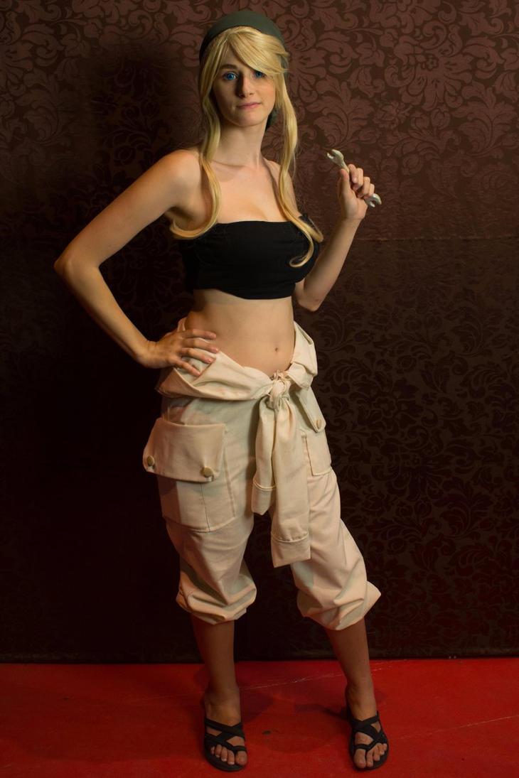 Winry Rockbell Full Metal Alchemist by YumeLujury