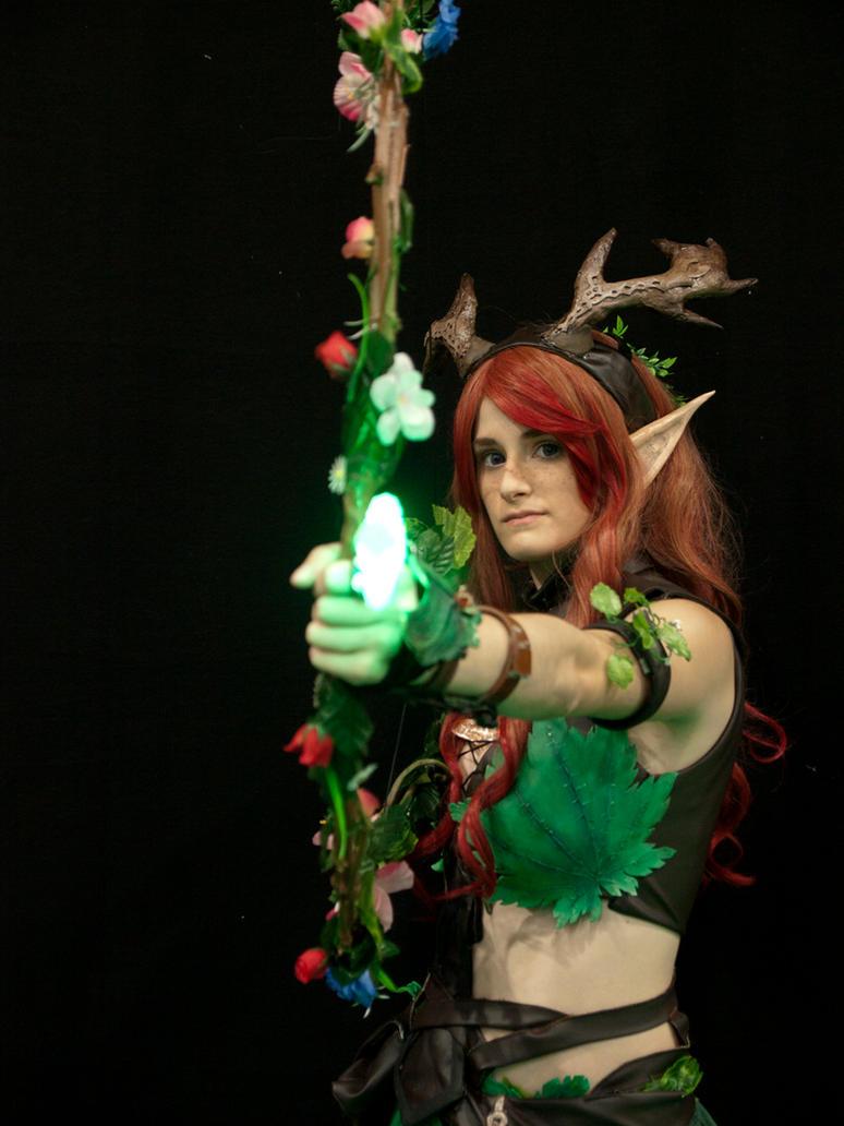 Fiara Linbell Nymph druid by YumeLujury