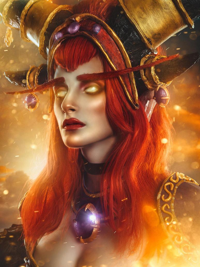 Alexstrasza World of warcraft. PH: Rebeca Saray by YumeLujury