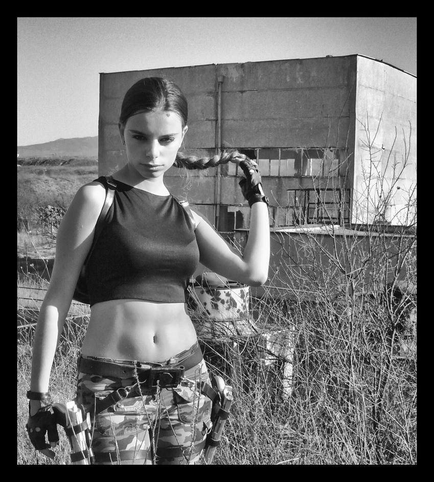 Tomb Raider Anniversary Wallpaper: Tomb Raider Cosplay Anniversary By Amygdalon By