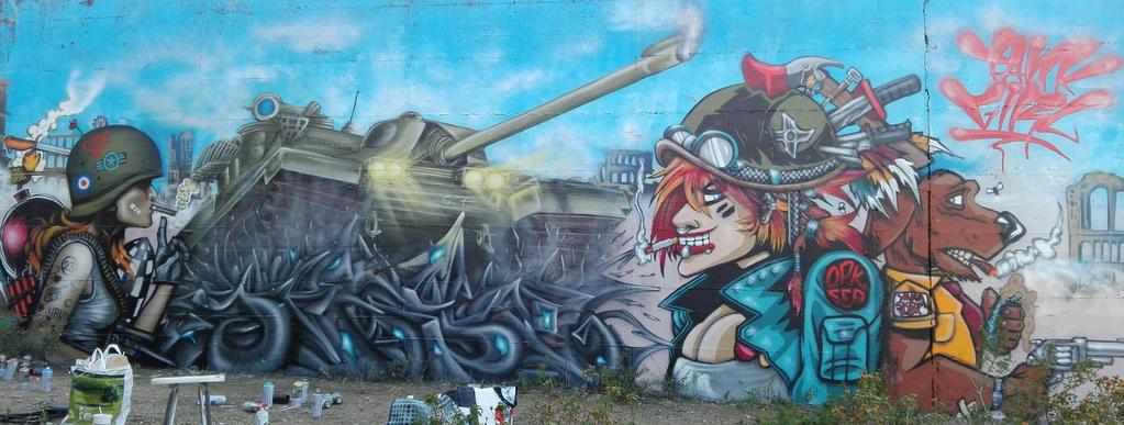 tank girl by oneskeum