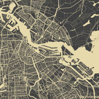 Amsterdam by MapMapMaps