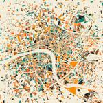 London Mosaic Map