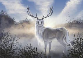 Spirit of river mist