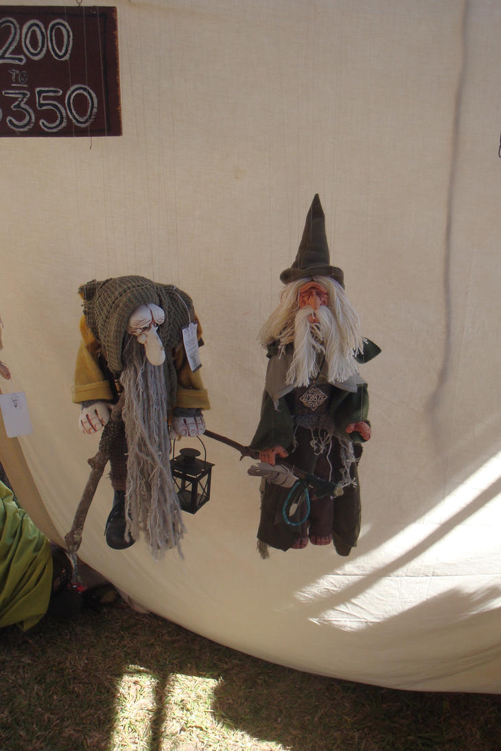 Old style Puppets by Missy-C