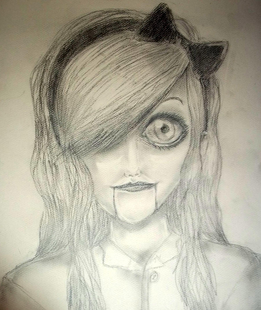 Creepy Doll by IThinkYoureBleeding on DeviantArt