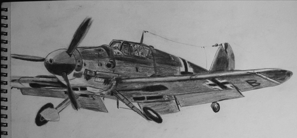 Messerschmitt bf 109 by Billionairere