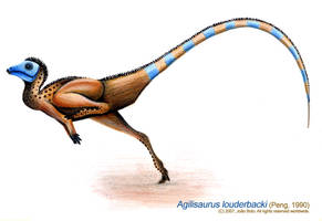Agilisaurus louderbacki by Sputatrix
