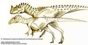 Lusodinos Theropod Comparison