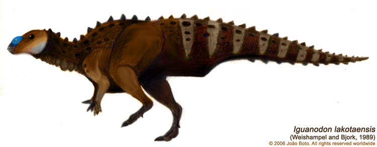 Iguanodon lakotaensis by Sputatrix