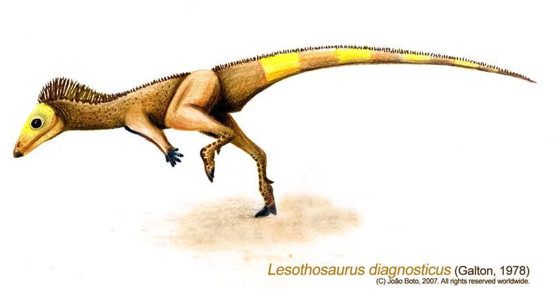 Lesothosaurus diagnosticus by Sputatrix