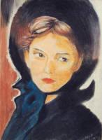 Pastel - Portraits 2 by naugthy-devil