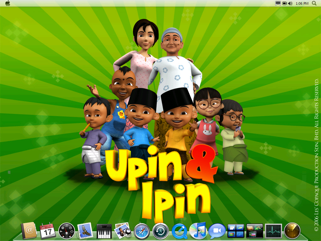 Leopard Upin And Ipin By Kampongboy92 On DeviantART