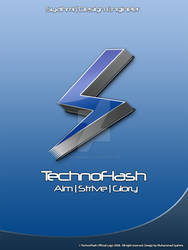 TechnoFlash Official Logo