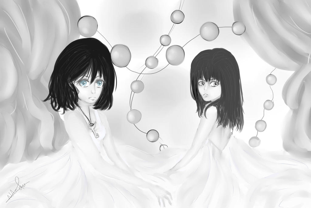 Girls in white by NAnoo99
