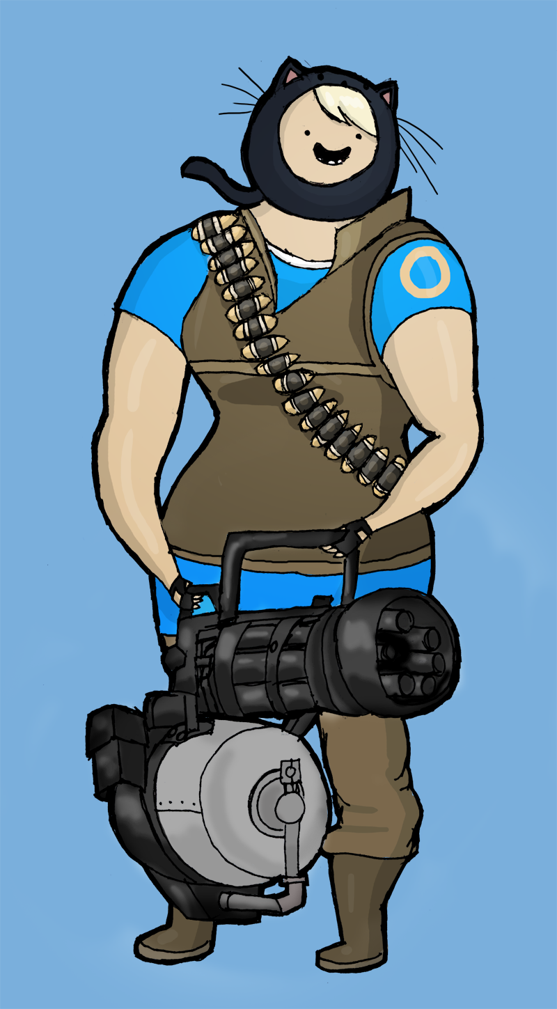I am Heavy Weapons Susan by gelertgal