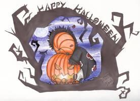 ..Tobi:Happy Halloween 07.. by imogenocide