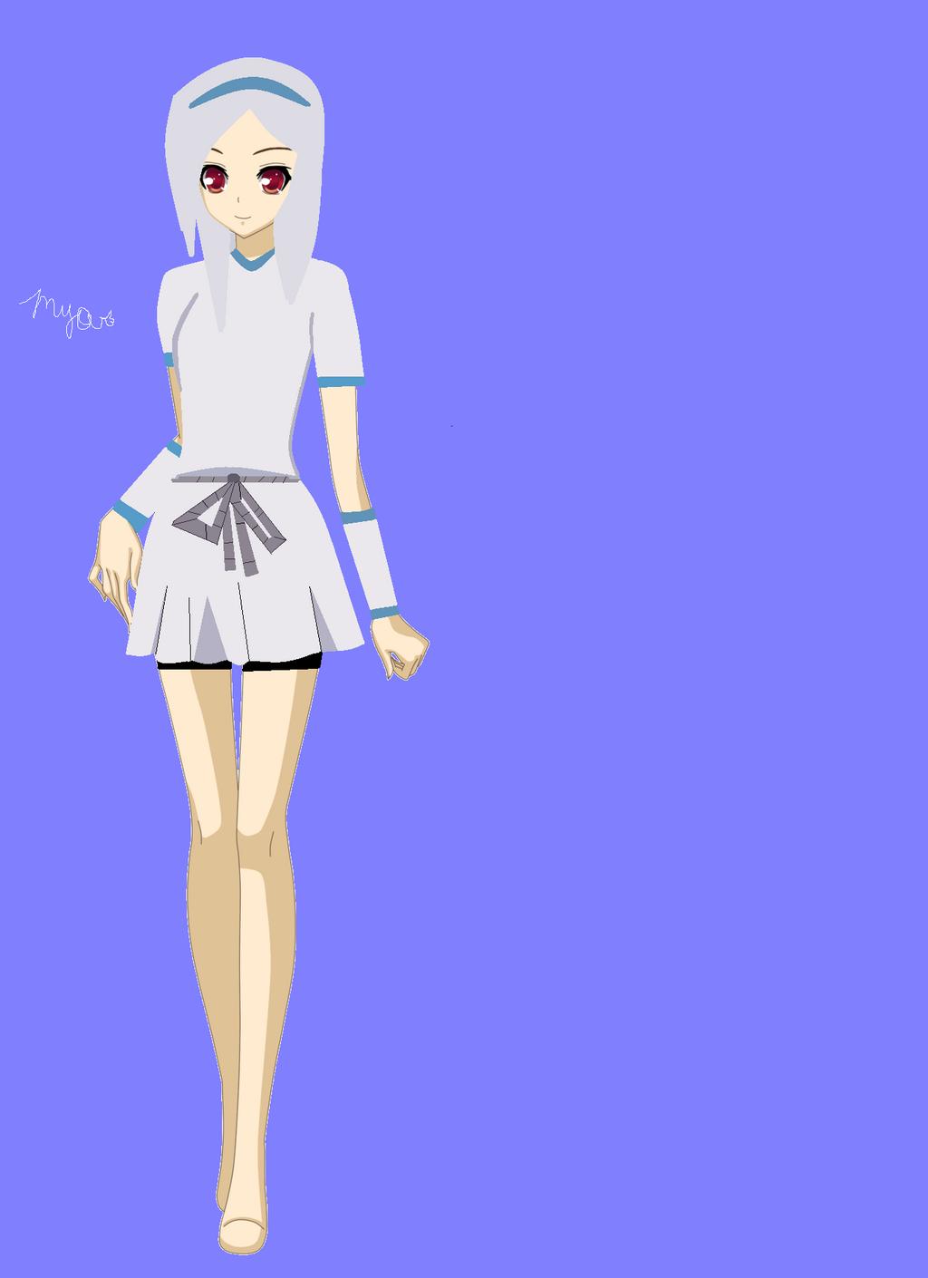 Cute Anime Girl Base By Kara Uchiha-d5468te (1) - by ...