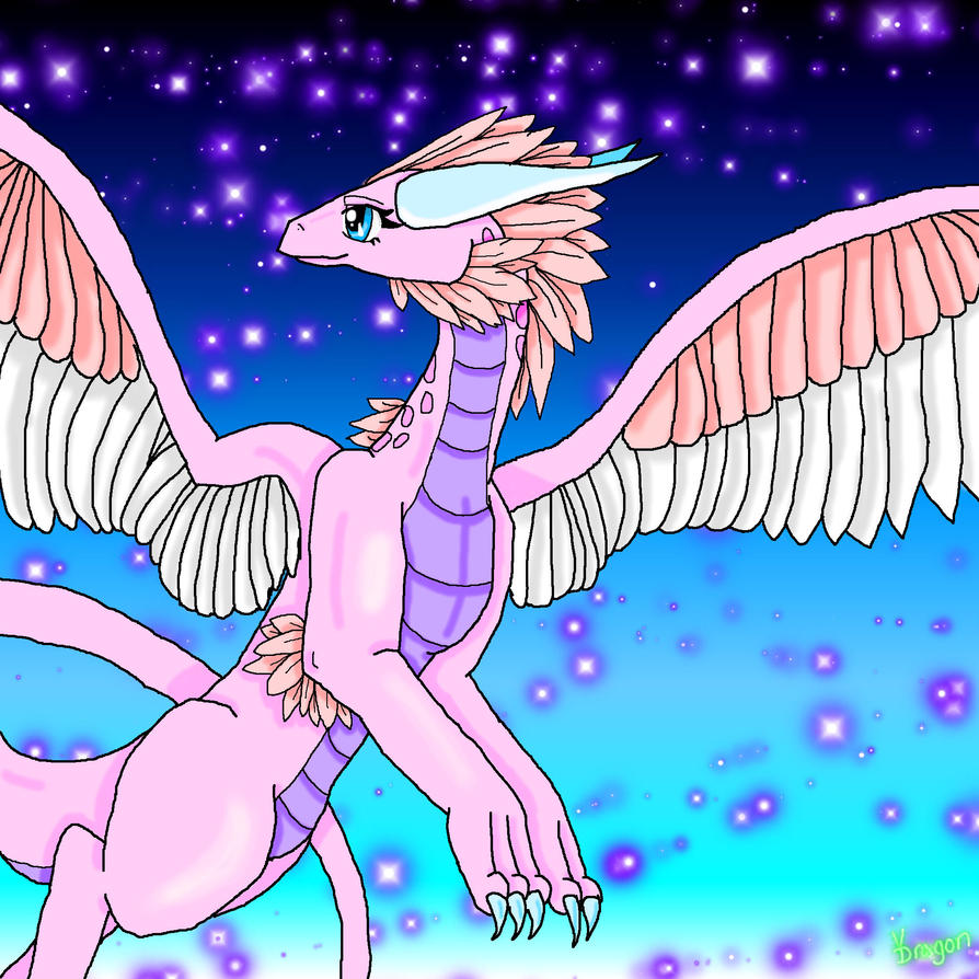 Star dragon female (one of my 46 types) by VDragon1622
