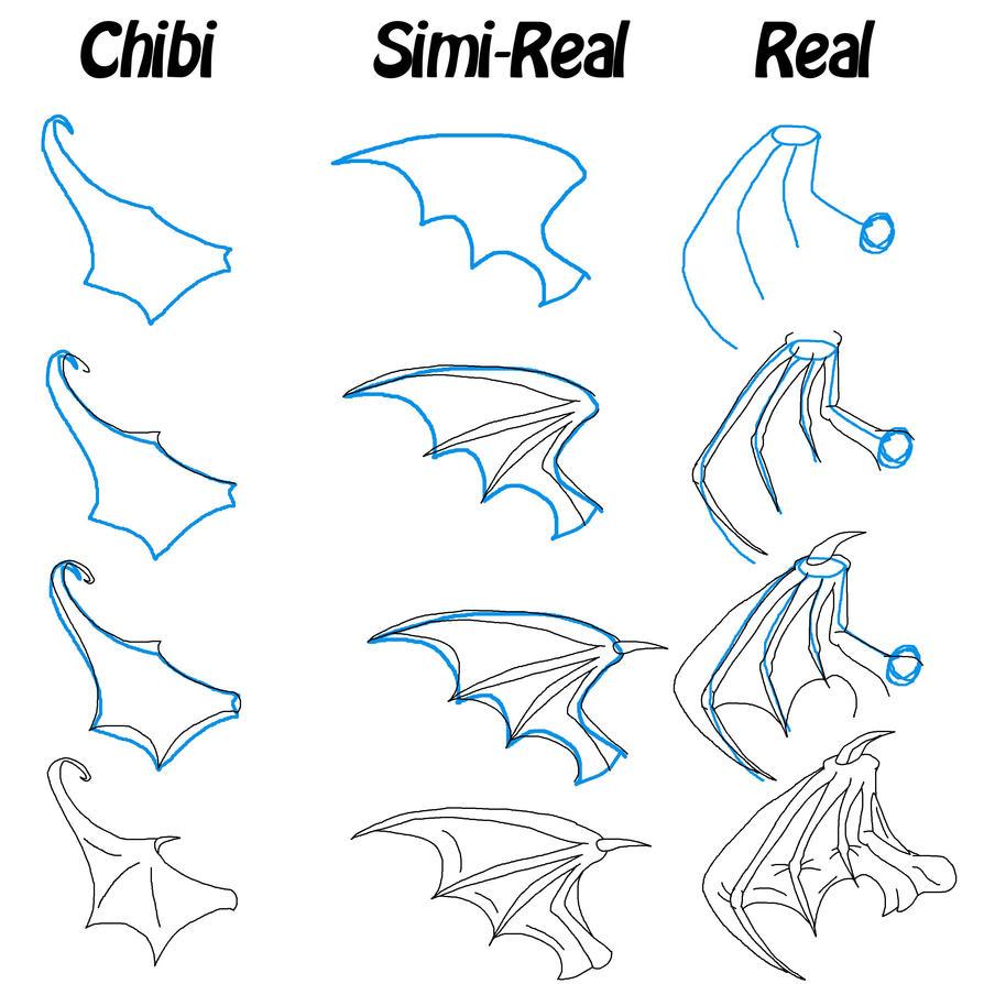 Bat Wing Tutorial by VDragon-Creations on DeviantArt