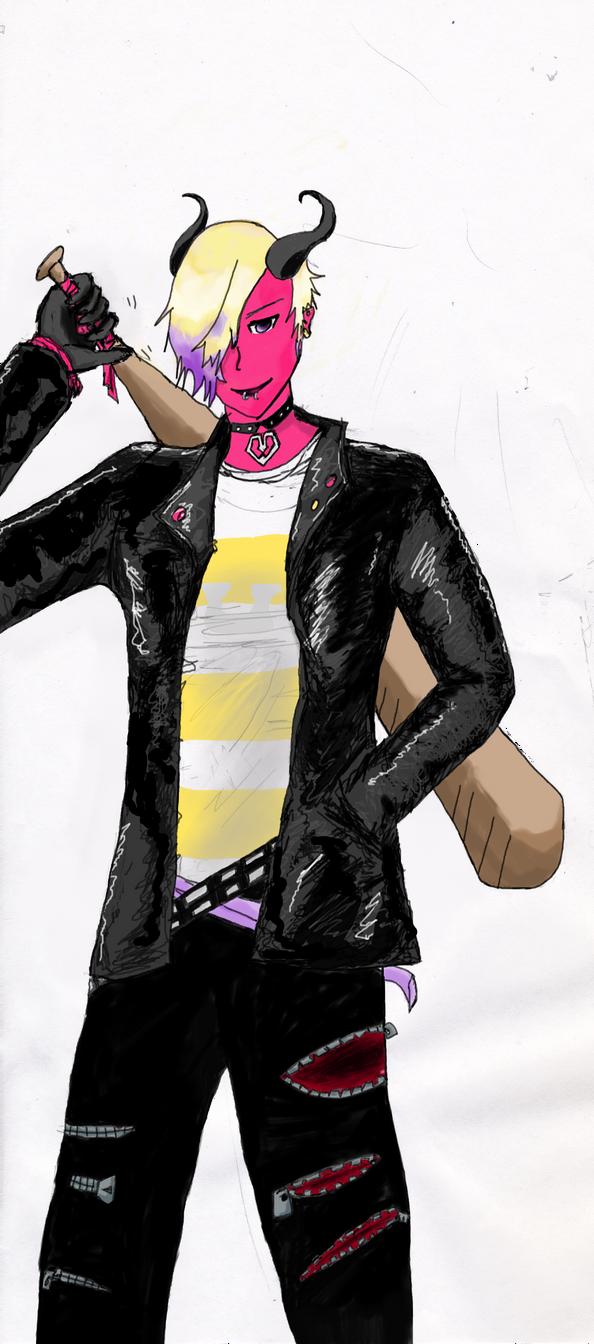 Demon Punk Boy Copy by thesky9
