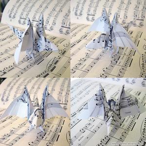 Origami Baby Dragon
