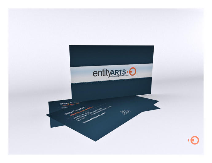 EA Business Card Development By Clevich