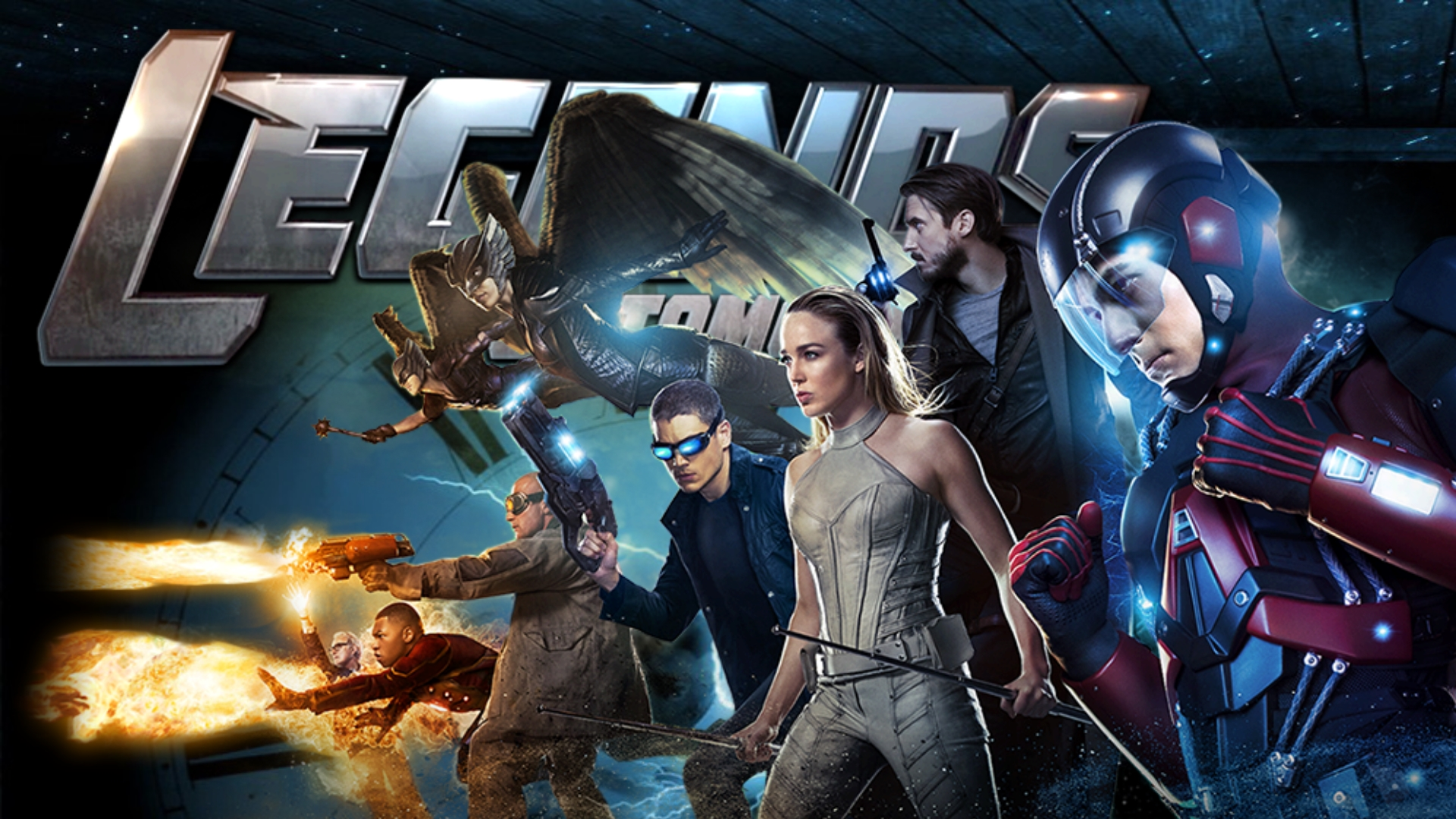 Dc S Legends Of Tomorrow Wallpaper And Background Image: Dc Legends Of Tomorrow Wallpapers 1920 X 1080