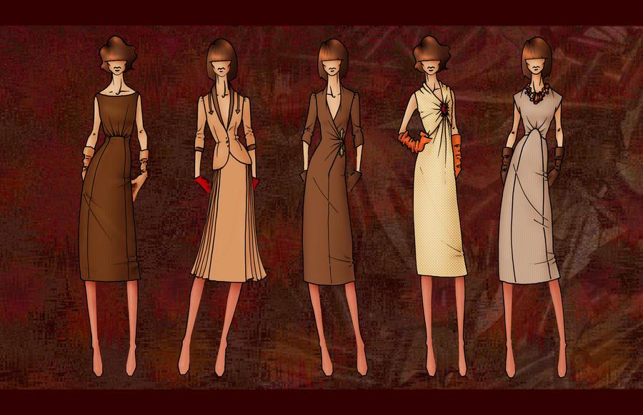 """Seduction"" Illustrations 2 by TheBocaj"
