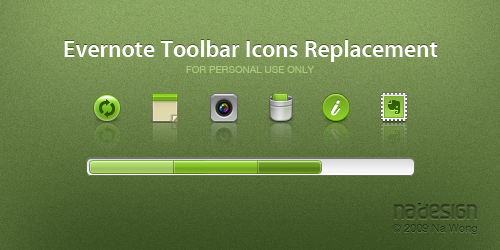 Icons - Evernote Toolbar by nawong