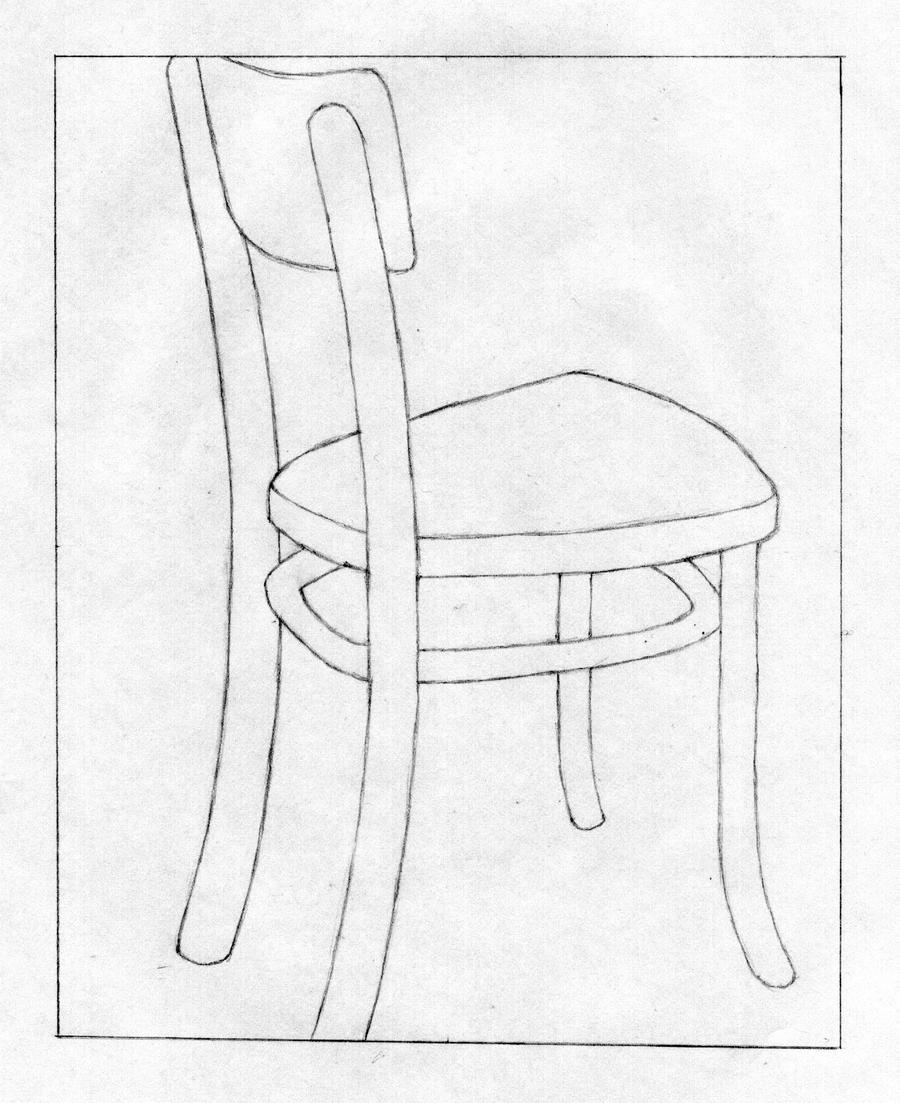 negative space chair by deadlydaverave on deviantart