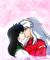 InuKag week 6: Just one touch by Kaira-Nadima