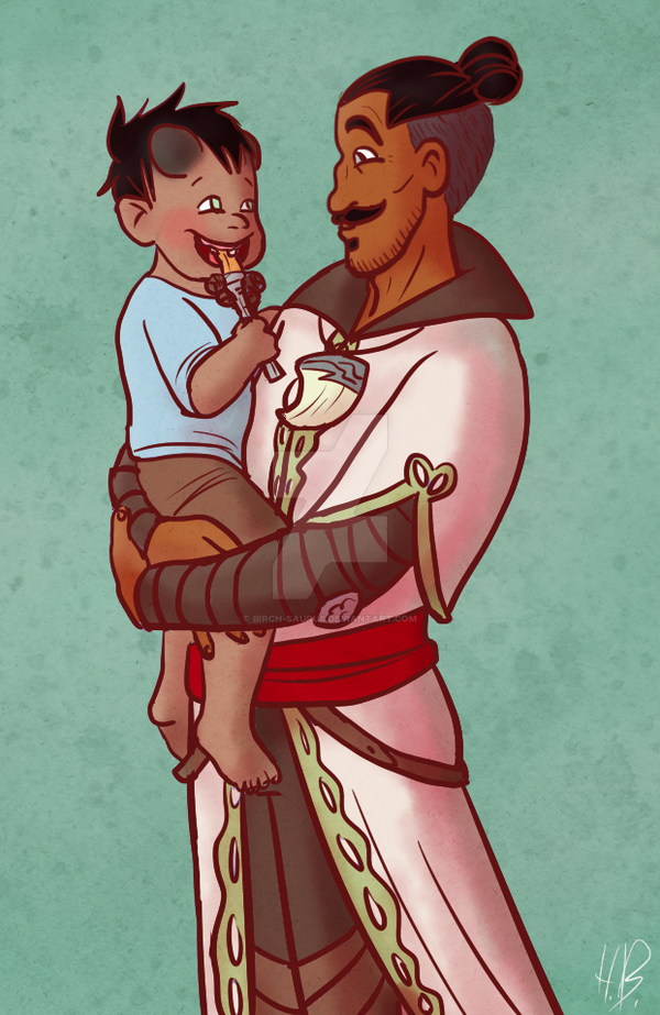 DAI - Father and Son by Birch-Saurus