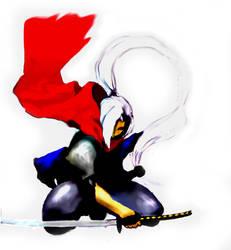 Ninja by FlowerViolence