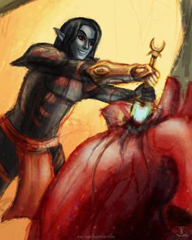 Sadryn vs Dagoth Part 2