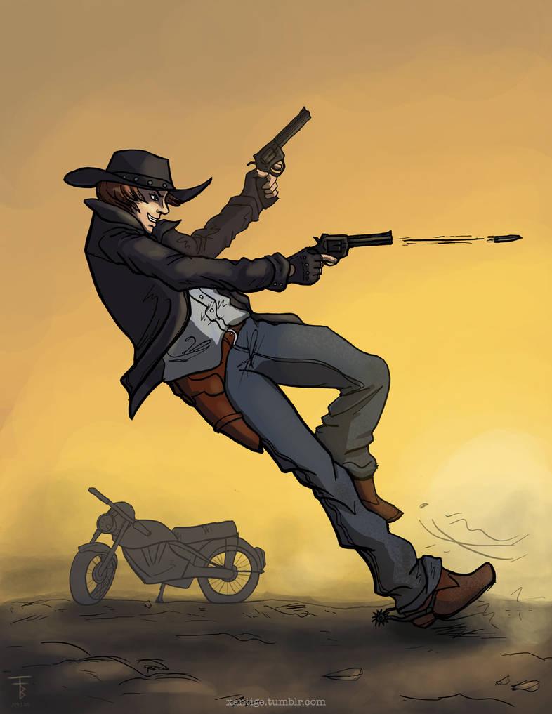 Cass Outlaw: Guns a Blazin'