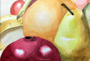 Watercolour Fruit 2